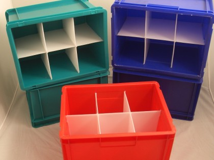 Plastic Welded Inserts and Dividers