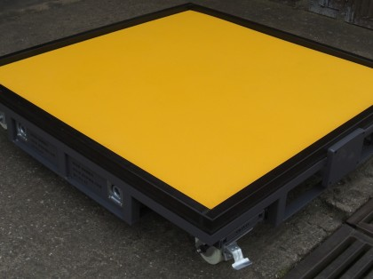 Heavy Duty Fixture Pallet with Removable Castors & Anti-Slip Surface