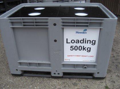 Cutter storage pallet box
