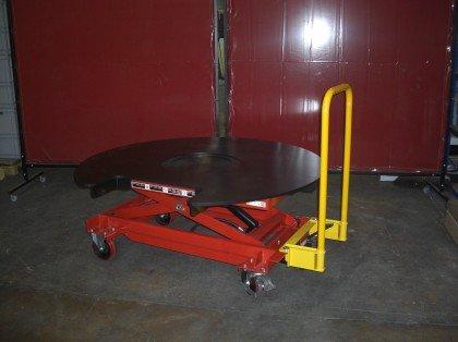 Mobile scissor table